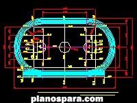 imagen Planos de plano de estadio