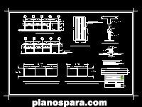 Planos de Plano de herrería de un laboratorio