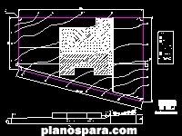 imagen Planos de Plano de trazo topográfico