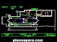 imagen Planos de Planta de la Casa Robie de Frank Lloyd Wright