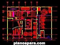 Planos de Planta de Oficinas Gubernamentales