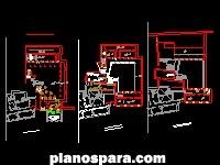 Planos de planta de un edificio antiguo