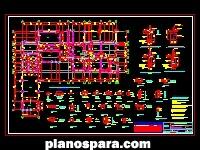 Planos de Planta Fundaciones Casa