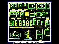 imagen Planos de puerta y ventanas