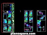 Planos de Residencia Universitaria en Valparaíso