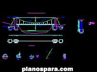 puente aereo instlacion tuberia