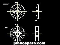 imagen turbina y compresordwg